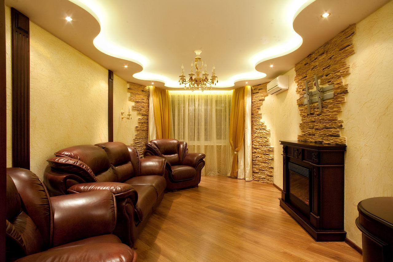 Дизайн обой квартир фото зала нас было